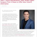 New Jersey plastic surgeon Christopher Godek, MD is the first in the state to offer Xact™, a less invasive alternative to facelift surgery that can rejuvenate areas of the face and neck.